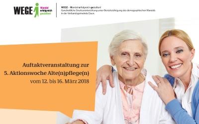 Information, Begegnung & Selbsterfahrung im Berufsfeld der Altenpflege